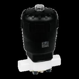 diaphragm valve T4 pneumatic actuating drive PVC_PP_PVDF.pdfT4 PVDF Pneumatic Actuator