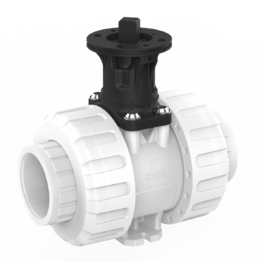 Praher 2-way Ball Valve M1 PVDF Adapter Set