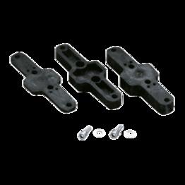 Praher Montageplatten PP für Membranventile