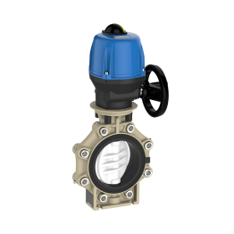Praher Butterfly Valve K4 PVDF Electric Actuator Valpes and Lug Type
