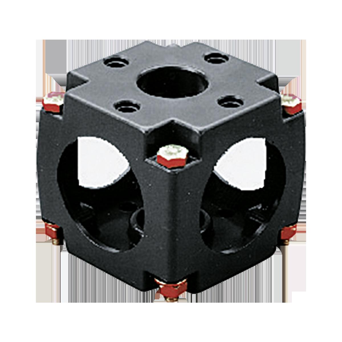 Praher valve bracket PVC, grey