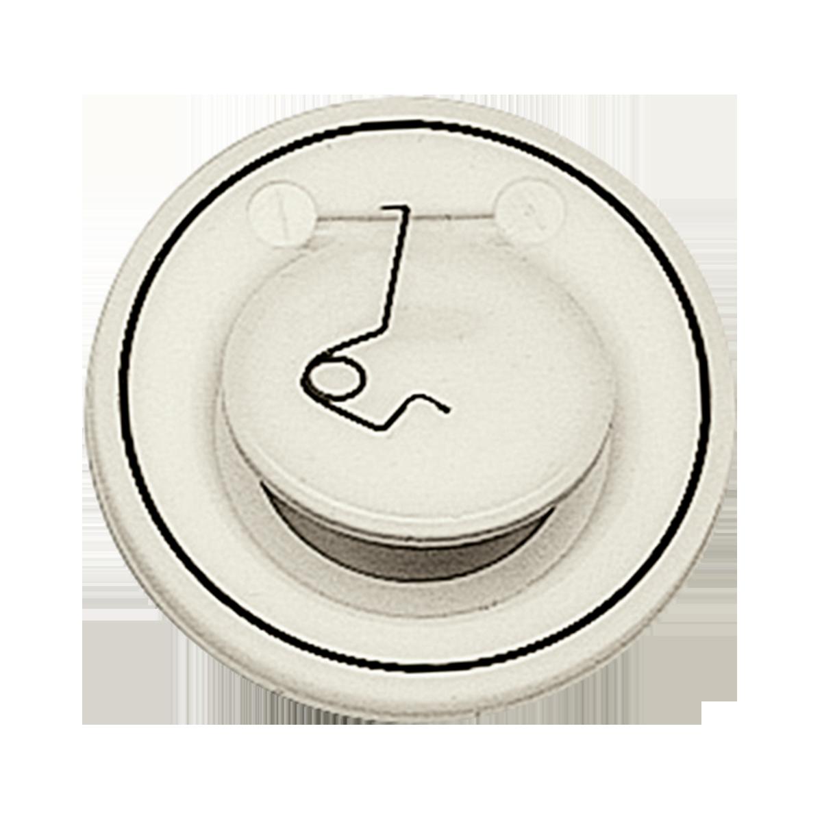 Praher Wafer type check valve S4 PP, beige