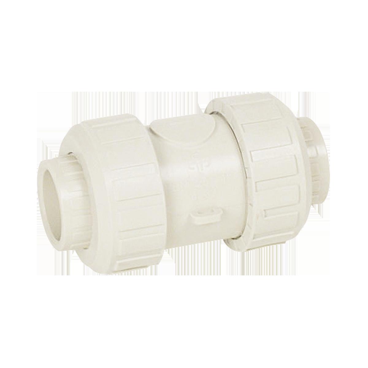 Praher cone check valve S4 PP, beige