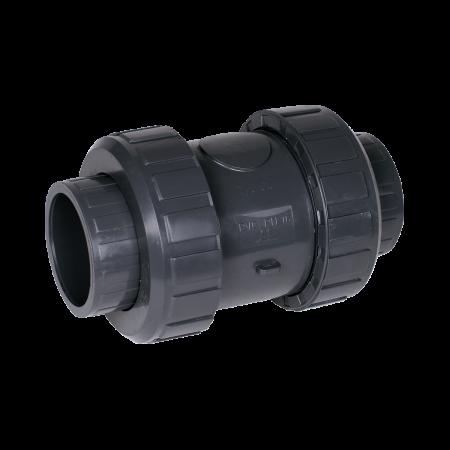 Praher cone check valve S4 PVC, grey
