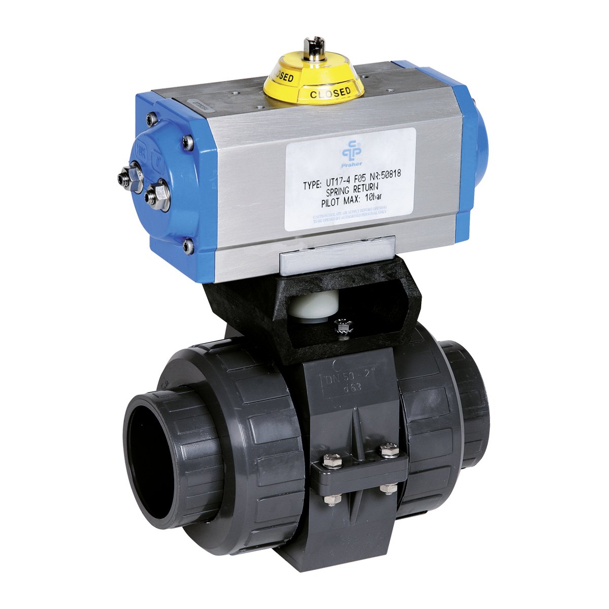 how to connect electric pneumatic valve