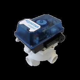 Praher 6-way Backwash Valve AQUASTAR Comfort, white, black, blue