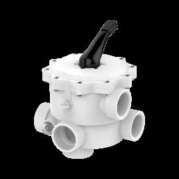 Praher_V6_backwash valve, ABS, white