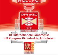 Logo Valve World Expo 2016