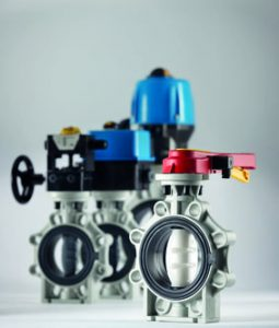 K4 butterfly valves series
