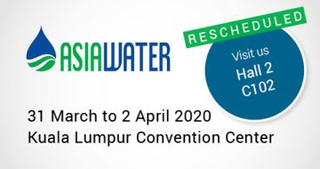 Asia Water 2020 rescheduled